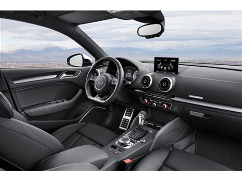 audi a3 interior 2017 audi a3 interior u s news world report