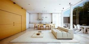 Attractive, Combination, Of, Living, And, Dining, Room