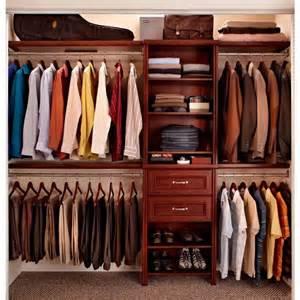closetmaid impressions 25 in cherry closet kit
