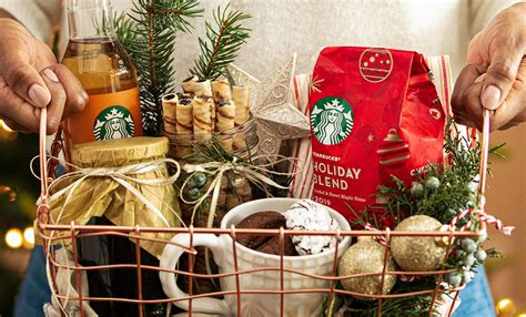 I started my first online business in 2010 promoting. Thoughtful Holiday Coffee Gift Basket Ideas | Starbucks ...