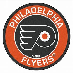 FANMATS NHL Philadelphia Flyers Orange 2 ft 3 in x 2 ft