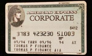 Full amex green card review. American Express Green Corporate Credit Card exp 1996 ♡Free Shipping♡cc410   eBay