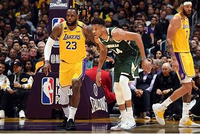 Giannis Antetokounmpo Lakers Lebron Mvp James Nba
