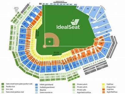 Fenway Park Seating Boston Chart Sox Seat