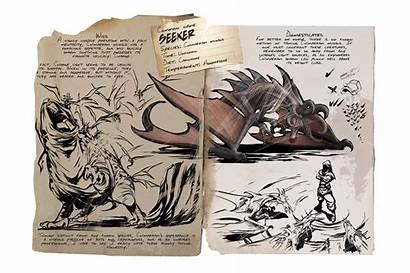 Ark Seeker Survival Evolved Dossier Dino Animales