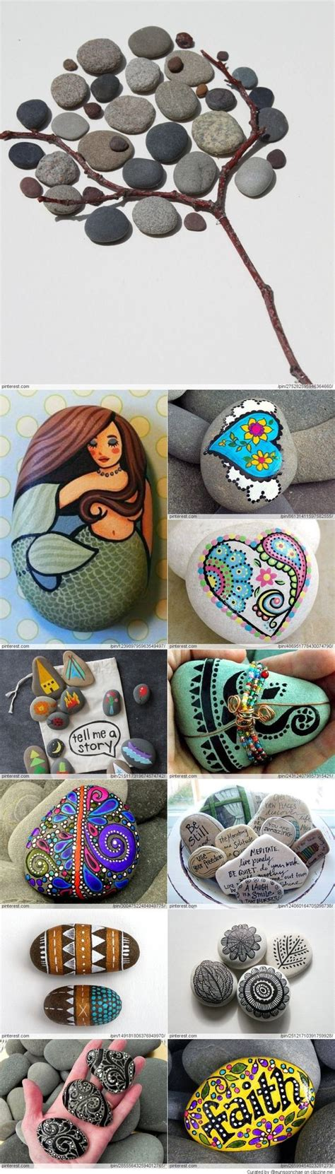 great idea for stone art could paint a rock for a turtle