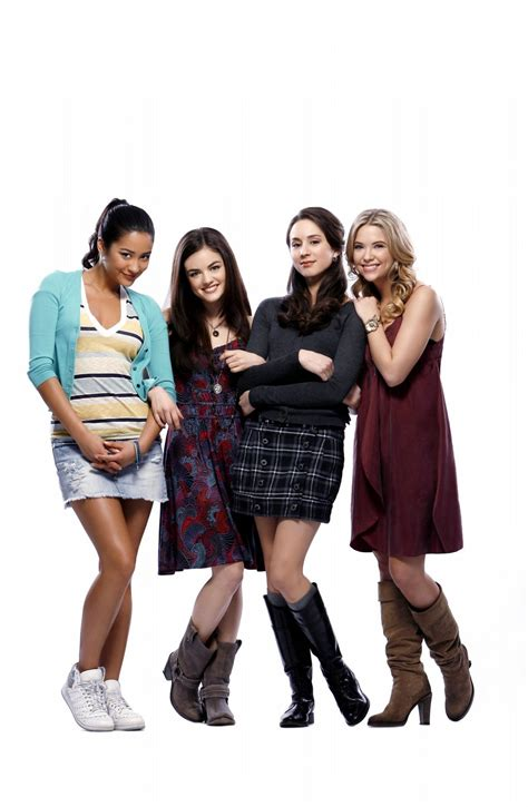 Lucy Hale, Ashley Benson, Shay Mitchell and Troian ...