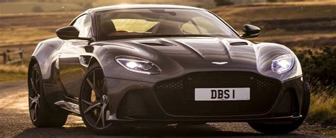 """2020 James Bond """"No Time To Die"""" Will Feature Four Aston ..."""