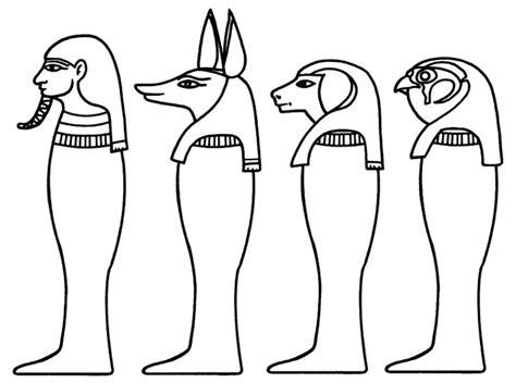 fresco disegni egizi facili da colorare migliori pagine
