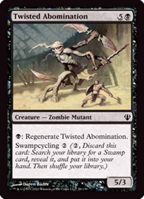Graveborn Deck List Visual by Twisted Abomination From Graveborn Spoiler
