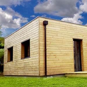 Extension Maison Bois Kit : extension maison agrandissement ossature bois ~ Melissatoandfro.com Idées de Décoration