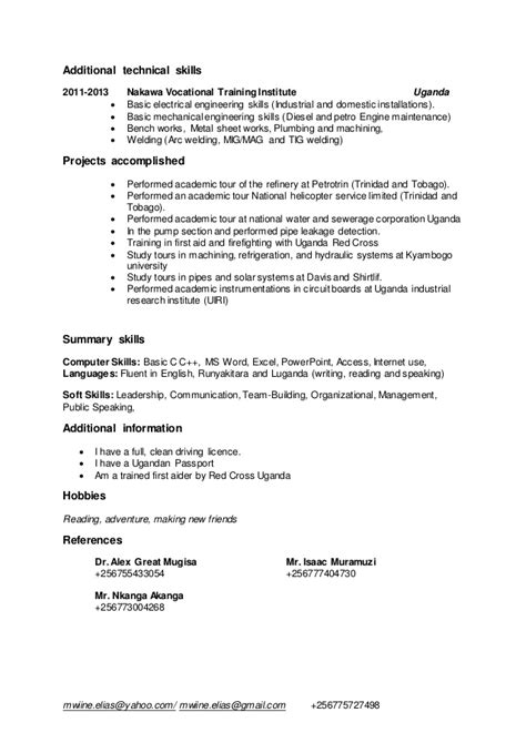 100 mechanical engineering skills for resume resume