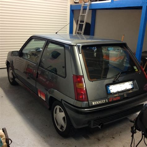 siege gt turbo 76 renault 5 gt turbo phase 2 gris tungsténe 1989