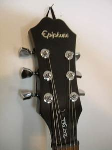Epiphone Dot Studio Black With Bigsby And Upgrades