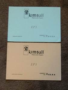 Kimball Elka Ep3 Electronic Organ Schematic Diagram Manual