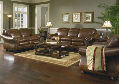 brown sofa living room decor living room decorating ideas dark brown leather sofa