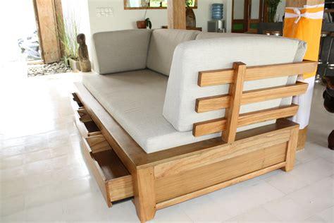 canapé en bois massif photos canapé en bois exotique