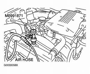 2003 Mitsubishi Montero Sport Serpentine Belt Routing And