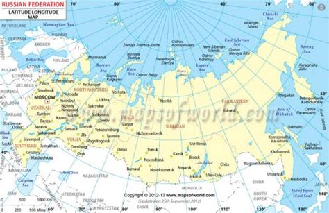 map  russia  cities holidaymapqcom