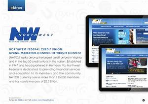 Northwest Federal Credit Union: Giving Marketers Control ...