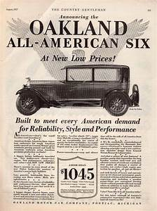 Details about OAKLAND ALL-AMERICAN MOTOR CAR ANTIQUE 1920s ...
