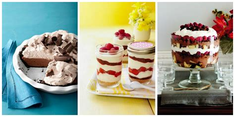 food recipes desserts 27 easy no bake summer desserts simple recipes for summer