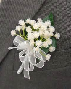 as a button baby shower decorations grooms ivory gypsophila babies breath buttonhole 39 s