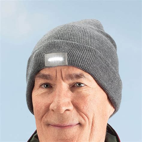 knit hat with led lights knit cap with led light winter cap light hat walter