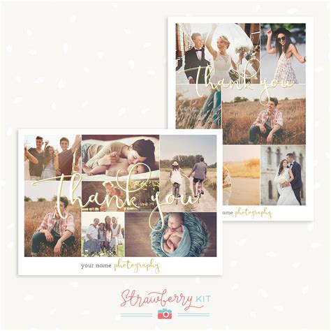 photo collage card template 28 images 4x6 photo card