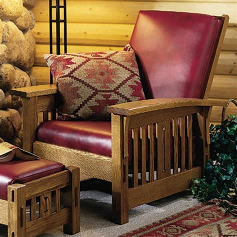 arts  crafts morris chair woodworking plan  wood