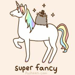 Pusheen's guide to being fancy   Kitty Bloger