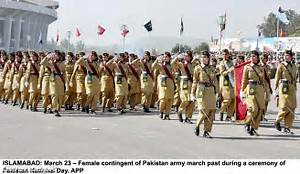 Should girls join Pakistan Army???: Girls in Pakistan Army...! Pakistan