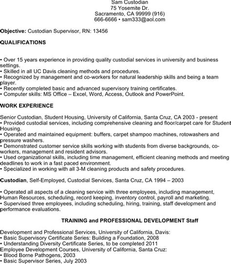 Free Custodian Resume Templates by Custodian Resume Templates Free Premium Templates Forms Sles For Jpeg Png