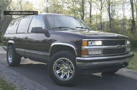 1996 Chevrolet Tahoe Suv 4x4 350 V8