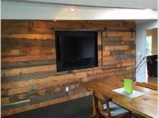 stained concrete floor + shiplap wall Google Search