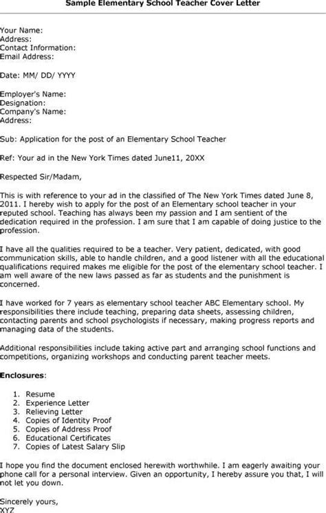 time esl cover letter elementary school template cover letters