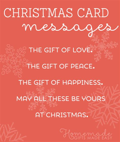 These more personal holiday greetings work well as a greeting card message to family and close friends. Christmas Card Messages, Wishes, and Sayings