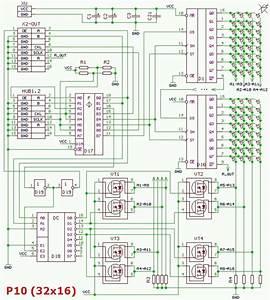 P10 Led Matrix Panels 16x32