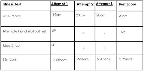 Btec Sport Blog Unit 1; Fitness Training & Testing
