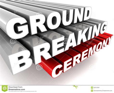 Clip Of Groundbreaking Ceremony Clipart