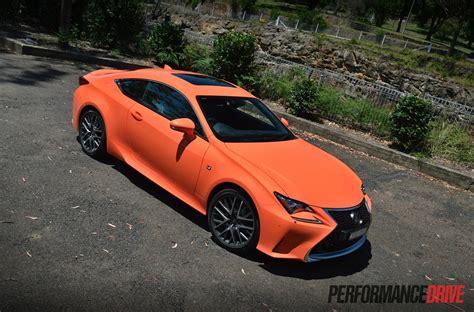 2018 Lexus Rc 350 F Sport Review Video Performancedrive