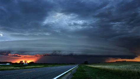 storm clouds  sunset wallpaper allwallpaperin