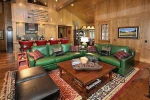 la menuiserie interieure et les chalets du monde With tapis persan avec canapé clic clac cinna