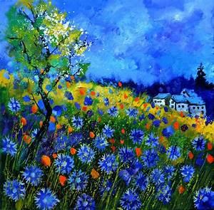 Pol Ledent Artwork: Field flowers 776150   Original ...