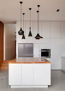 57 original kitchen hanging lights ideas digsdigs for Suspended kitchen lighting