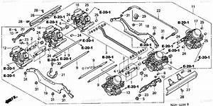 Honda Motorcycle 2003 Oem Parts Diagram For Carburetor