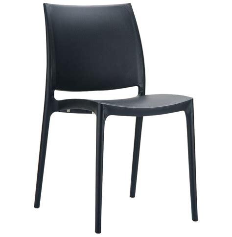 chaise noir design chaise design enzo chaise moderne