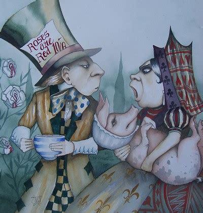 Dominic Murphy Art Alice in Wonderland