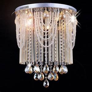 Lustre Cristal Moderne : lustre moderne en cristal manfrino lustres en cristal ~ Teatrodelosmanantiales.com Idées de Décoration