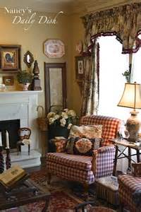 nancy s daily dish english cottage living room before